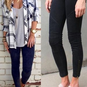 🆕 Black Stretchy Biker Pants